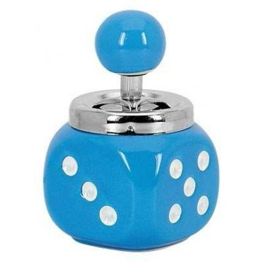 12719 Hamutartó - Kék dobókocka - 10 cm